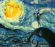 Starry Night Skellington