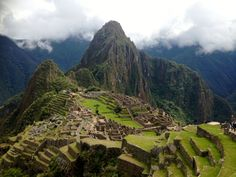 I took this classic photograph of Machu Picchu with my camera. when you are there it feels unreal to be surrounded by such beauty