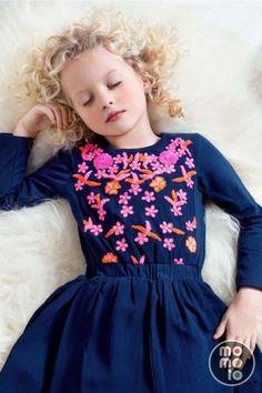 momolo.com red social  de #modainfantil  ➡️ #momolo  ⬅️ #kids #kidswear#streetstyle #streetstylekids #fashionkids #kidsfashion#niños #moda #fashion   MOMOLO   moda infantil    Vestidos Mim-Pi, niña, 20150803230451