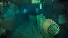 The top three levels of a sunken Soviet ship were sliced off by the Kaikoura quake.