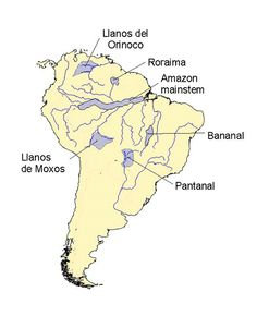 Test your geography knowledge: South American rivers and lakes ...
