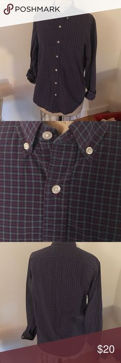 J. Crew men's purple plaid shirt size S J. Crew men's purple plaid shirt size S J. Crew Shirts Casual Button Down Shirts