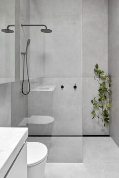 Chapter House by Tom Robertson Architects - Project Feature - The Local Project Bathroom Renos, Laundry In Bathroom, Dyi Bathroom, Downstairs Bathroom, Master Bathroom, Modern Bathroom Design, Bathroom Interior Design, Contemporary Bathrooms, Bathroom Designs