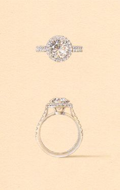 The Kraz Setting. Naveya & Sloane engagement ring, made to order in Auckland, New Zealand.