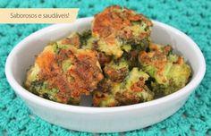 bolinhos de brócolis assados                                                                                                                                                                                 Mais