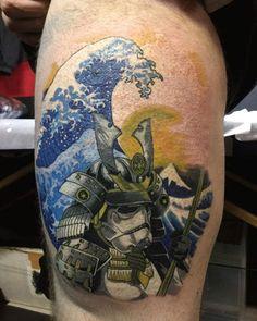 Japanese Tattoo Idea Yoshi @ Black Eyes Tattoo. Yokosuka, Japan