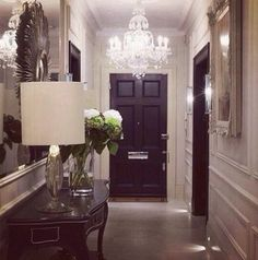 Swoon. My dream entrance hall
