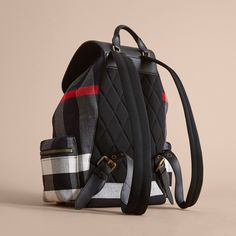 403f90cd1f4a Burberry Canvas Check Backpack Sold By Burberry