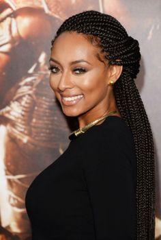 kerri hilson braids | Keri Hilson Box Braids