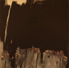 irene-shraer-genealogie.jpg - Peinture,  100x100x2 cm ©2013 par ireneshraer -                                            Art conceptuel, Art abstrait, mémoire, photos, générations, nuit