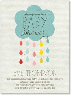 Drip Drop Shower - Baby Shower Invitations in Reef   Ann Kelle