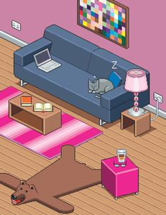 Isometric Cat