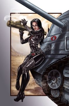 The Baroness by VinRoc on @DeviantArt
