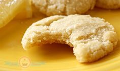 Lemon Olive Oil Cookies made with Nudo Olive Oil Cookie Desserts, No Bake Desserts, Cookie Recipes, Dessert Recipes, Yummy Treats, Delicious Desserts, Sweet Treats, Bite Size Food, Lemon Sugar Cookies