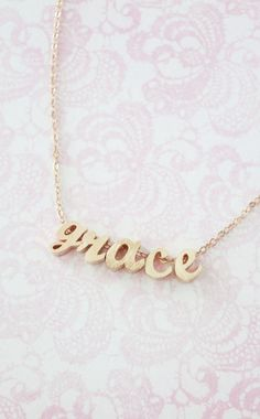 Personalized Rose Gold Name Necklace - Rose Gold Initial Rose Gold Filled Chain, monogram, friendship, custom couples bridal bridesmaid, www.colormemissy.com