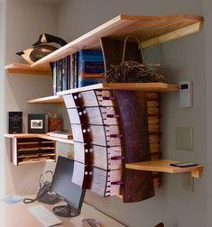 Matt Downer Designs Unique Furniture from Rico Colorado Fine Furniture, Unique Furniture, Furniture Projects, Furniture Design, Furniture Websites, Inexpensive Furniture, Woodworking Furniture, Woodworking Projects Plans, Woodworking Inspiration