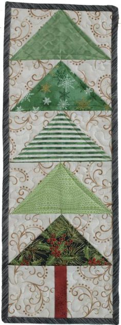 Ho Ho Holiday Blog Hop: Winter Pines is easy but effective. Love it!