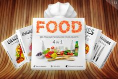 Food Pro Collection - All in One by byDimas on Creative Market