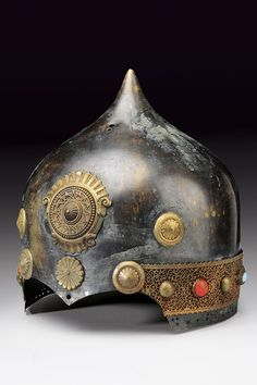 Ceremonial helmet, late 19th Century, Turkey