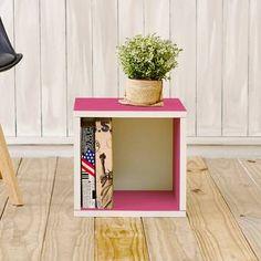 Andover Mills™ Ryker Standard Bookcase & Reviews | Wayfair Modular Storage, Cube Storage, Home Design, Cube Bookcase, Small Bookcase, Cube Unit, Cube Organizer, Fabric Bins, Decorative Storage