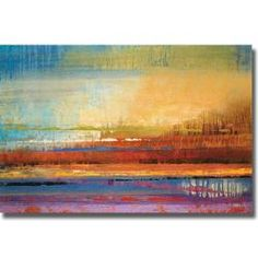 @Overstock - Artist: Selina Rodriguez Title: Horizons II Product type: Canvas arthttp://www.overstock.com/Home-Garden/Selina-Rodriguez-Horizons-II-Canvas-Art/5943151/product.html?CID=214117 $175.99