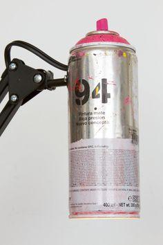 Spray Paint Swivel Arm Architect Lamp
