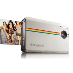 Polaroid 10-Megapixel Instant Print Digital Camera Z2300W with ZINK Zero Ink Printing Technology, White #PinterestGiftGuide2013