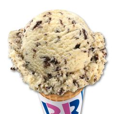 Baskin-Robbins Chocolate Chip Cookie Dough It's my faveorite flavor
