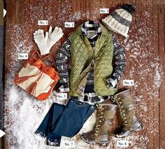 Cozy Winter Resort Wardrobe | Whether your frosty escape has you hitting the slopes or lounging fireside, layers are key to staying warm and cute.