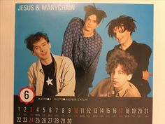 The Jesus And Mary Chain, Automatic era 1989. Photo by Andy Catlin