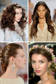 Runway-Inspired Hairstyles to Try for New Year's Cornrolled updo diffrent hair