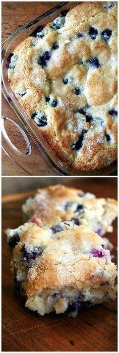 Buttermilk Blueberry Breakfast Cake by Wynee
