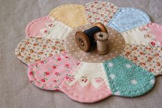 Mug rug. I always find the cutest and most amazing items on this site. So simply done but so fantastic! Nana Company
