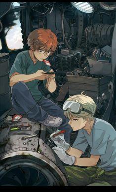 Katekyo hitman reborn - Shouichi x Spanner Hitman Reborn, Reborn Katekyo Hitman, Character Inspiration, Character Art, Character Design, Chica Anime Manga, Anime Guys, Manga Art, Anime Art