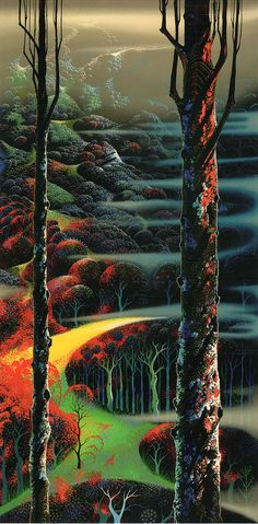 A Touch of Autumn - Eyvind Earle