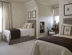 The colours of Bedroom looking are blended with the deep tone brought by the Bedroom on guest bedroom decorating ideas, while the bedroom brings luxurious impression to the space.