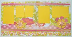 Hello+Sunshine+Premade+2+Page+12x12+by+GLOwormpaperdesigns+on+Etsy,+$15.95
