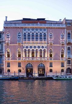 Hotel Danieli in Venice, Italy Luxury hotels Best European hotels Well Liv . Dream Vacations, Vacation Spots, Romantic Vacations, Italy Vacation, Places To Travel, Places To See, Places Around The World, Around The Worlds, Wonderful Places