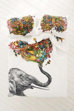 Because elephants are beautiful and lovely and perfect.