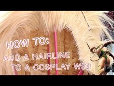 ♡ DIY WIG HAIRLINE TUTORIAL: Adding a Natural Hairline To a Cosplay Wig! - YouTube