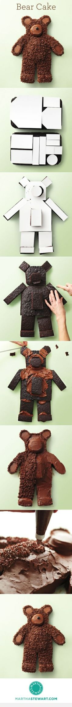 bear cake by Kim Paige