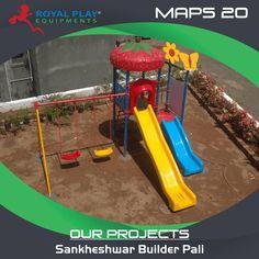 Project at Sankheshwar Builder, Pali  #royalplayequipment #pali #childrenattraction #playground