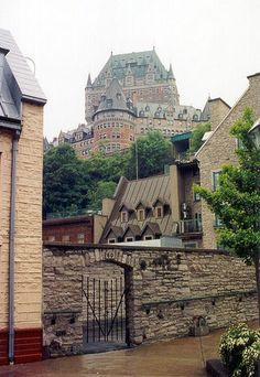 Quebec city by David Wise