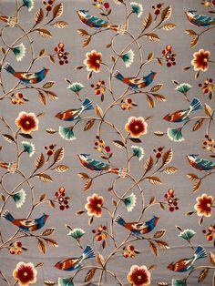 My Fabric Connection - Fabricut Fabric The Singing Tree Cinnamon