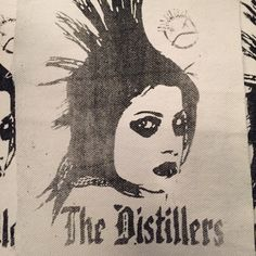 The Distillers! Great LA band! Show everyone how much you love Brody Dalle by getting this back patch and slapping it right your vest, bag or shirt!