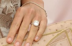 Molly Sims-- this is gorgeous. I could rock this rock.