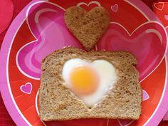 Catholic Cuisine: Heart of St. Valentine Egg Toast