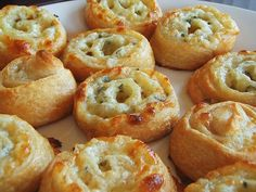 three cheese pinwheels with crescent rolls (super bowl) - 16