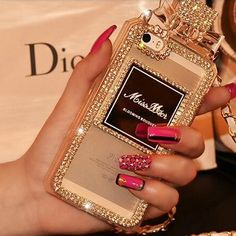 Coque de protection Miss Dior avec Strass pour iPhone6 /6plus / 5/5S,samsung galaxy s4/5,note 3/4 - Coque iPhone 6 Dior - Coque iPhone 6
