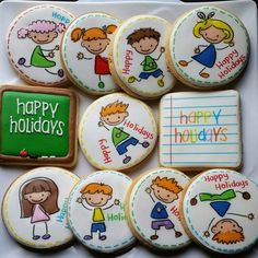 School holiday cookies